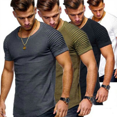 Mens T Shirt, Ejercicio, summer t-shirts, short sleeves