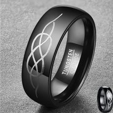 Steel, tungstenring, Laser, wedding ring