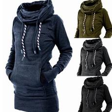 women pullover, Tops & Blouses, pullover hoodie, Sleeve