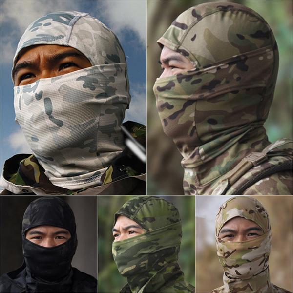 Warm Hat, Outdoor, detachablehood, Army