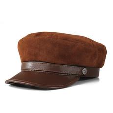 Fashion, Military Hat, Navy, leatherhat