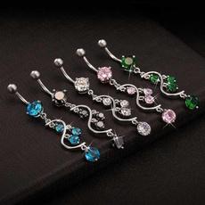 butterfly, Girlfriend Gift, navel rings, Jewelry