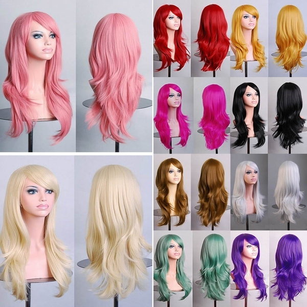 wig, Cosplay, Colorful, Curly