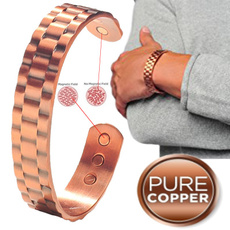 Copper, Men, Jewelry, Magnetic