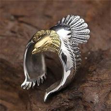Steel, Stainless Steel, Jewelry, 925 silver rings