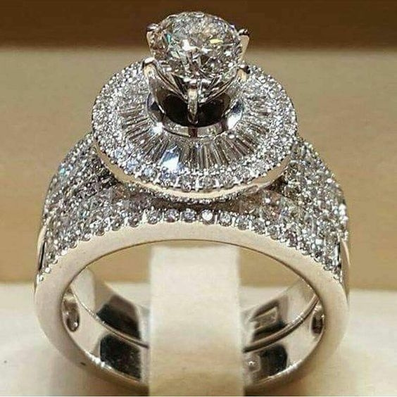 Fashion, wedding ring, sterling silver, promise rings