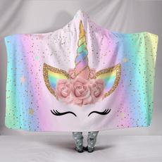 Fleece, printhoodedblanket, Throw Blanket, Blanket