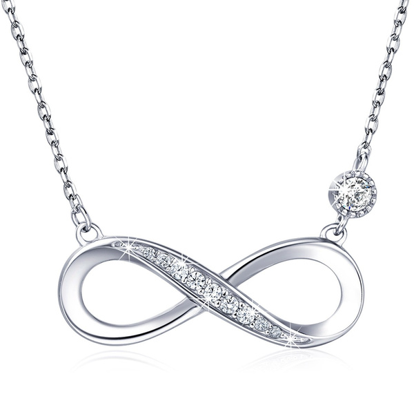 Sterling, Heart, DIAMOND, Infinity