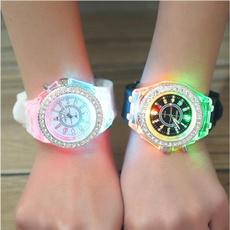LED Watch, quartz, led, Colorful
