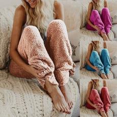 women's pajamas, plushpant, Fashion, Casual pants