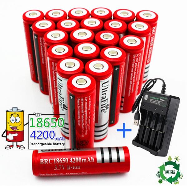 Flashlight, Capacity, Battery Charger, Battery