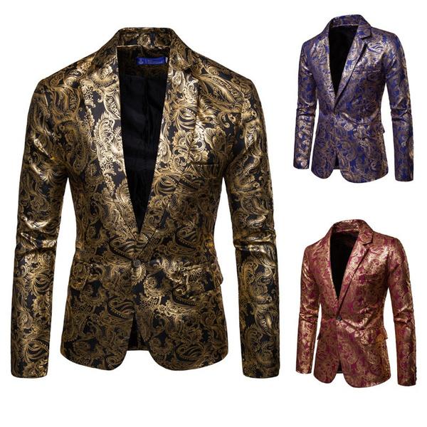 blazerjacket, golden, Fashion, gold