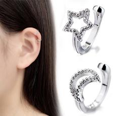 Sterling, Ear Cuff, Star, Jewelry
