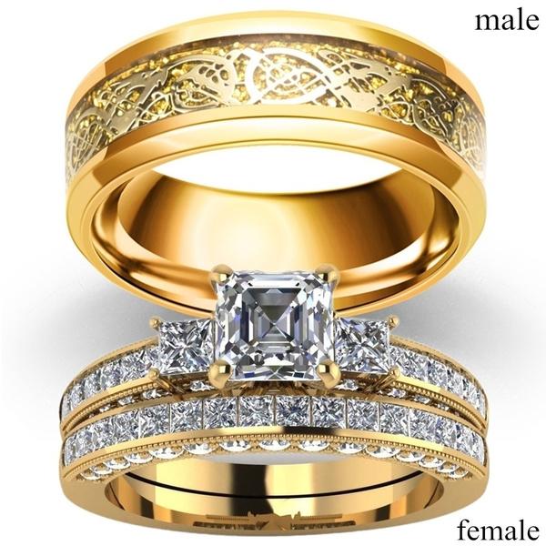 18 k, yellow gold, DIAMOND, wedding ring