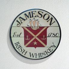 wallarttinsign, Irish, Office, garagetinsign