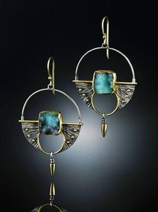 Dangle Earring, Gemstone Earrings, Stud Earring, boho