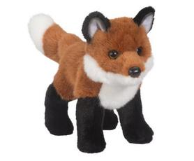 foxstuffedtoy, largefoxstuffedanimal, Red, bushyfoxplushtoy