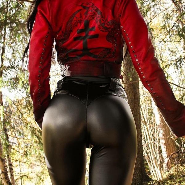 Women Pants, latex, Leggings, skinnypantsforwomen