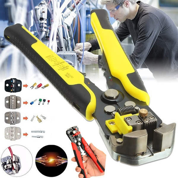 selfadjusting, toolgadget, automaticwirestripper, crimpercutter
