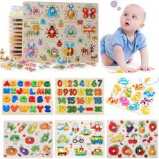 woodenjigsaw, kidsjigsaw, Infants & Toddlers, Preschool Toys & Pretend Play