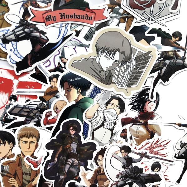 Car Sticker, suitcasesticker, Anime, laptopsticker