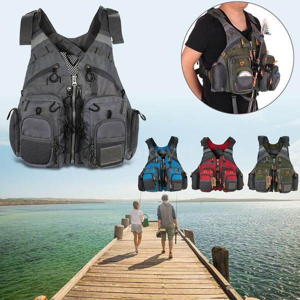 Jacket, Vest, fishingtacklejacketvest, padded