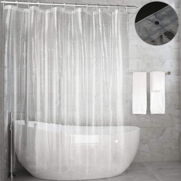 Clear Shower Curtain Liner Feagar Mold
