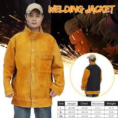weldingsuit, weldingjacket, Electric, flameresistant