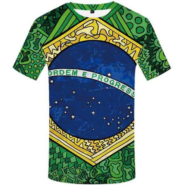 Brazil, Fashion, Star, Shirt