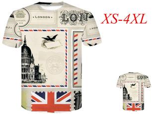 Mens T Shirt, Shorts, Graphic T-Shirt, britishflagtshirt
