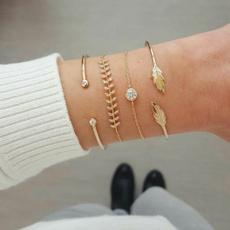 Fashion, leaf, prevalent, gold