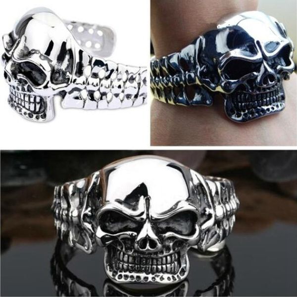 Heavy, Goth, gothicbracelet, Stainless Steel