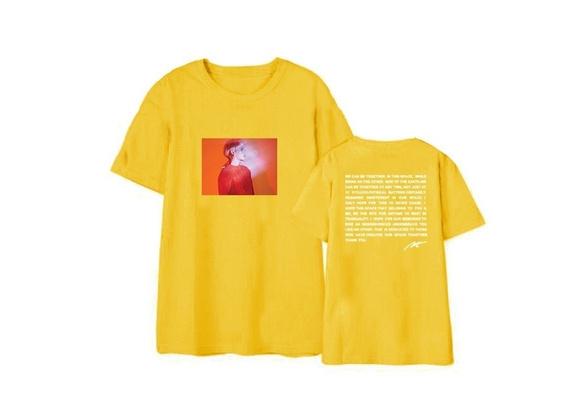 Xkpopfans Kpop Shinee T-Shirt Album Poet Artist Support Tshirts Minho Taemin Jonghyun Tee Shirt