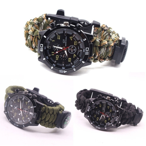 Multifunctional tool, wristswatch, Outdoor, Jewelry