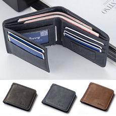 men's leather wallet, Fashion, leather purse, Wallet