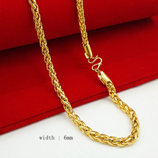 yellow gold, byzantinechain, Chain Necklace, Fashion necklaces