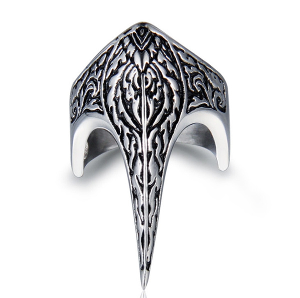 Steel, ringsformen, antiquering, eaglering