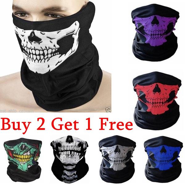 Helmet, cyclemask, motorcyclemask, skull