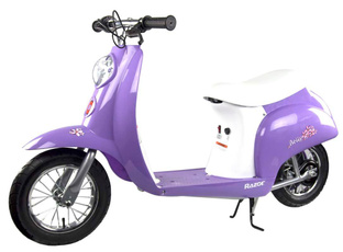 hlandingpage, Electric, purple, Scooter