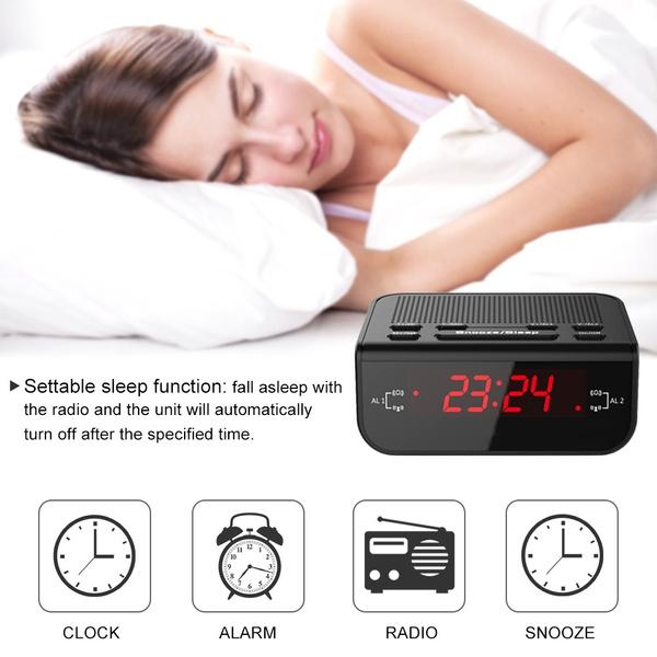 amfmradio, led, timerdimmer, Clock