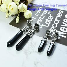 Steel, gaugestunnel, Jewelry, earexpander