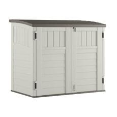 resinstorageshed, storageshedwithfloor, suncaststorageshed, horizontalstorageshed