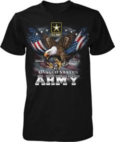 Funny, Fashion, Shirt, Army