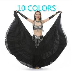 Belly Dance, long skirt, gypsy, cottonskirt