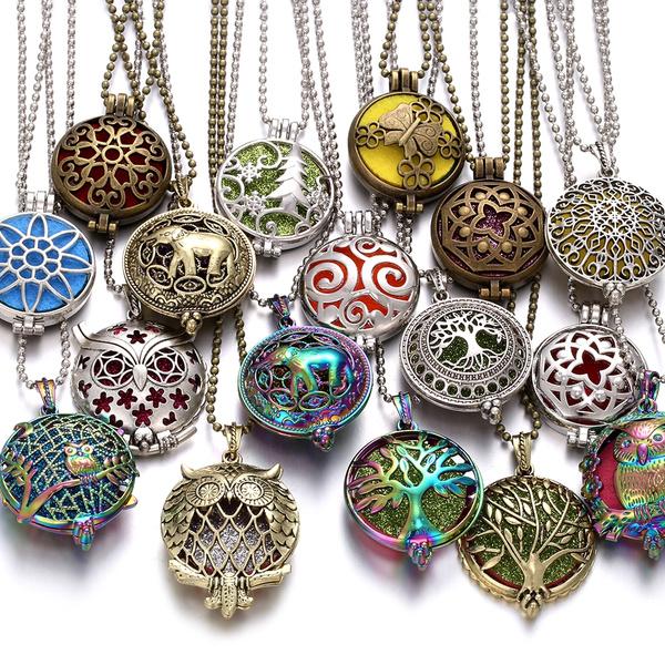aromatherapynecklace, perfumenecklace, aromatherapylocket, diffusernecklace