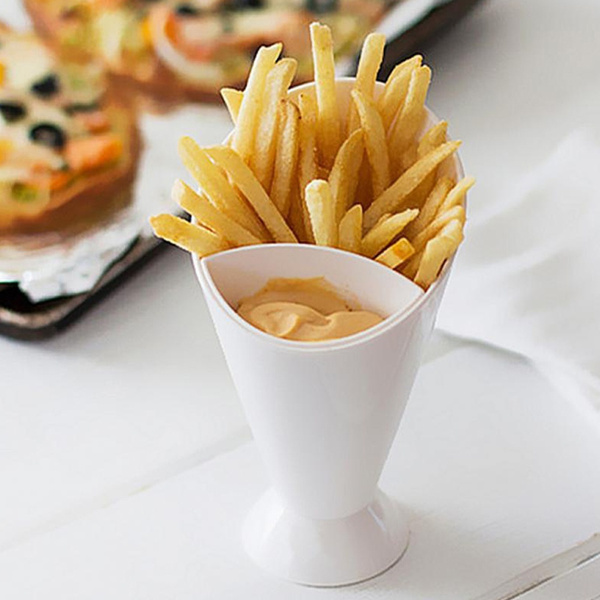 frenchfriestool, frenchfrycone, Kitchen & Dining, dippingcup