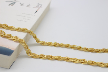 yellow gold, gold, Chain, 18 k
