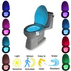 toiletseatscommode, Bathroom, led, toliet