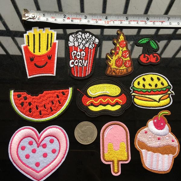 Clothes, ironon, Embroidery, Ice Cream