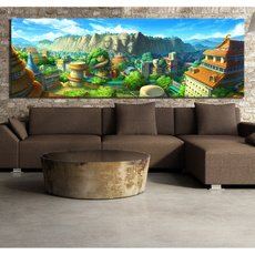 Video Games, art, Home Decor, decoration oil painting